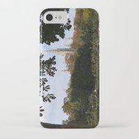 vienna iPhone & iPod Cases featuring vienna volksgarten by Lisa Carpenter