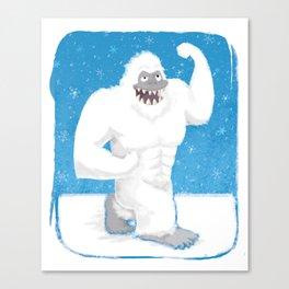 Abdominal Snowman Canvas Print