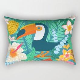 Tropical Flow Rectangular Pillow