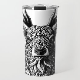 Ornate Buck Travel Mug