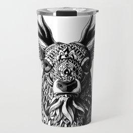 Ornate Buck Travel Mug