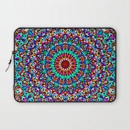 Colorful Life Garden Mandala Laptop Sleeve