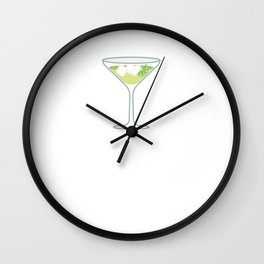 The Liquor Sippers Cocktail Classy Drinker T-Shirt Wall Clock