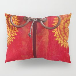 Temple Door Pillow Sham