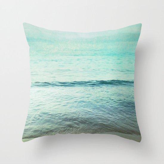 near and far Throw Pillow
