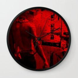 REBELLES Wall Clock