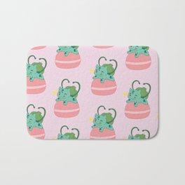 Little Bulba, Big Macaron Bath Mat
