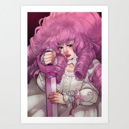 Pink Challenger Art Print