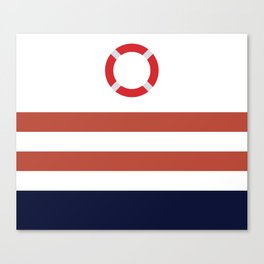 Life Ring,Nautical Canvas Print