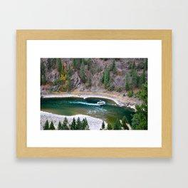 Kootenai River Framed Art Print