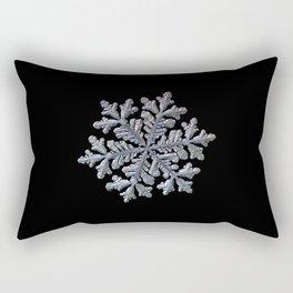 Real snowflake - Hyperion black Rectangular Pillow