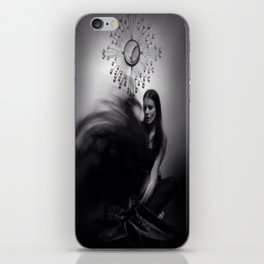 """""""ascension of a spirit"""" iPhone Skin"""