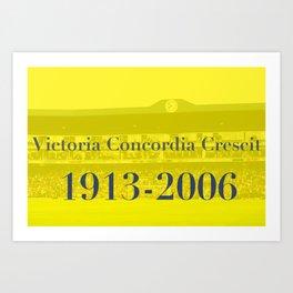 Highbury (Yellow) Art Print