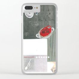 Study of mental disorders: OCD Clear iPhone Case