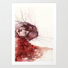 laceration Art Print