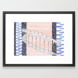 Cara Galadhon, Lothlórien Framed Art Print