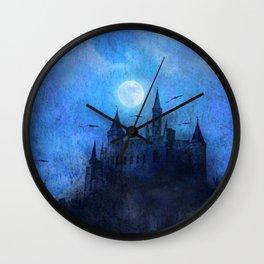 Mystical castle Wall Clock