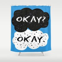 fault in our stars Shower Curtains featuring The Fault in our Stars by MariBee