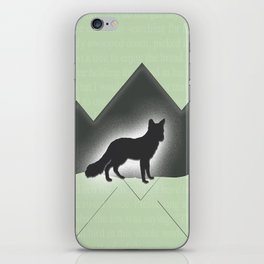 The Story of the Fox iPhone Skin
