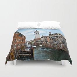 Leaning Venice Duvet Cover