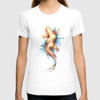 koi fish T-shirts featuring Koi Fish by Sam Nagel