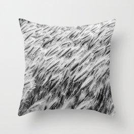 Utah tall grass Throw Pillow