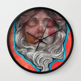 mascaron Wall Clock