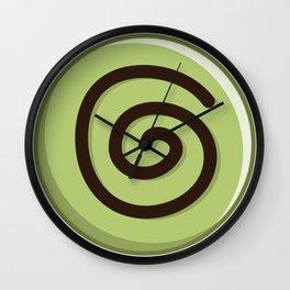 Pleasure Green Tea Wall Clock