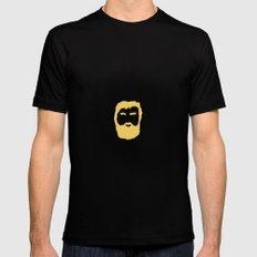 The Beard MEDIUM Mens Fitted Tee Black