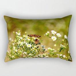 Two Butterflies Rectangular Pillow
