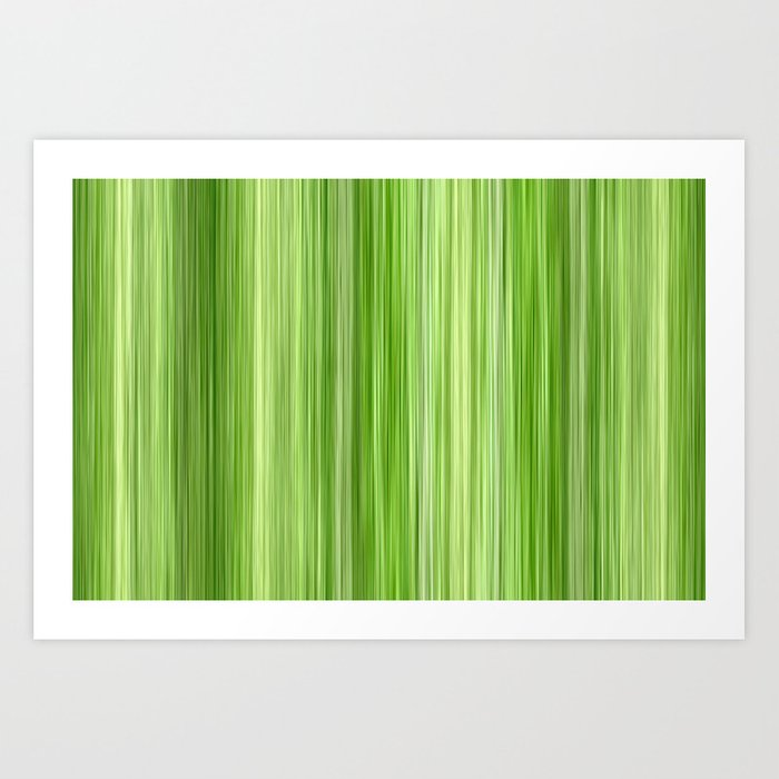 Green 3 Art Print