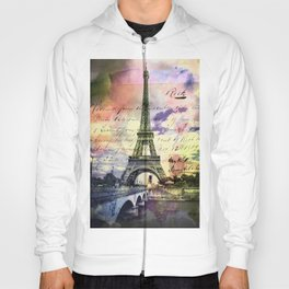 Eiffel Tower Paris Hoody