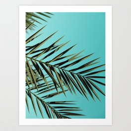 Palm Tree Craze Art Print
