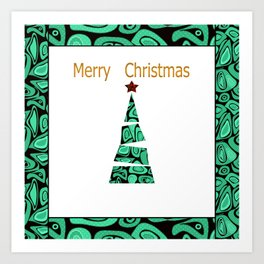 merry Christmas . Art Print