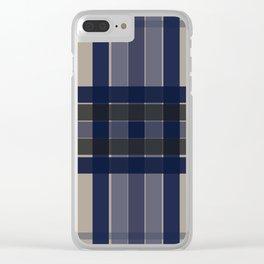 Blugi Squares Clear iPhone Case