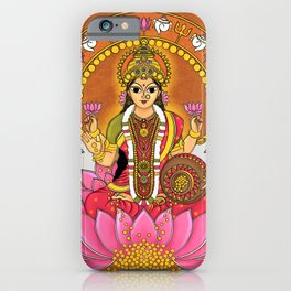 Goddess. Lakshmi iPhone Case