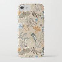 floral pattern iPhone & iPod Cases featuring Floral pattern by De Assuncao création