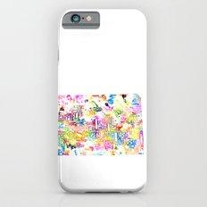 Typographic Colorado - multi watercolor iPhone 6s Slim Case
