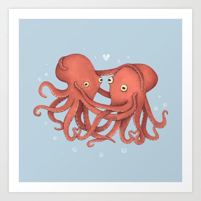 You Octopi My Heart Art Print