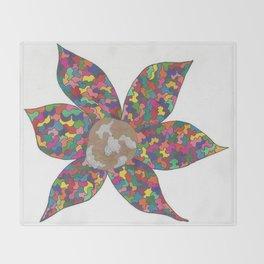 Pinwheel Throw Blanket