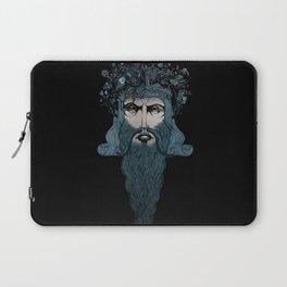 Conquerer {blue}. Laptop Sleeve