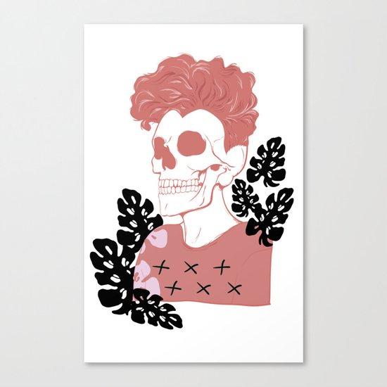 SKULL SHIT Canvas Print