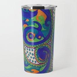 PAISLEY SWIRLS Travel Mug