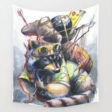 Trash Panda  Wall Tapestry