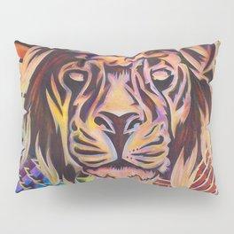 The Potent Lion Pillow Sham