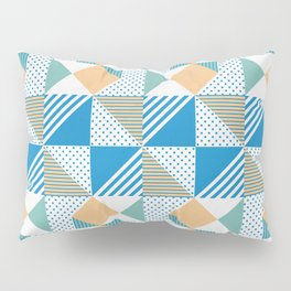 Geometric Polka Dots Petit Pois Cream Pillow Sham