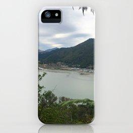 Marlborough Sounds, New Zealand iPhone Case