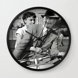 Freddie Krueger in Roman Holiday Wall Clock