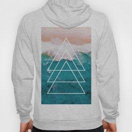 Beach Arrow / Geometric Hoody