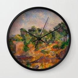 "Paul Cezanne ""Bibémus"" Wall Clock"